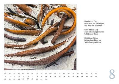"Foto-Lyrik-Kalender 2019 ""Schöpfungsgeschichten"" August"