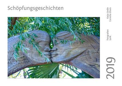 """Foto-Lyrik-Kalender 2019 """"Schöpfungsgeschichten"""" Titelbild"""