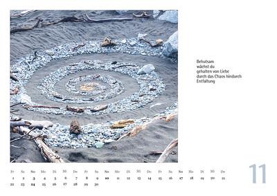 """Foto-Lyrik-Kalender 2019 """"Schöpfungsgeschichten"""" November"""