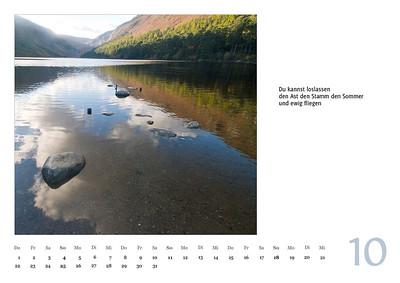 """Foto-Lyrik-Kalender 2020 """"An der Küste von Grünland"""" Oktober"""