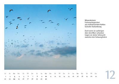 """Foto-Lyrik-Kalender 2017 """"Im Traumtänzerschritt"""" Dezember"""