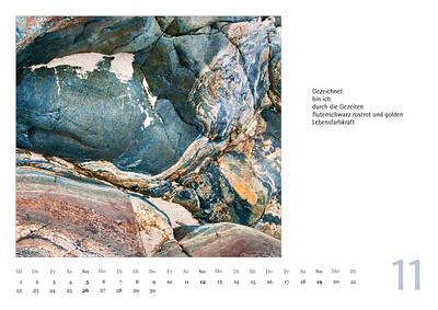 """Foto-Lyrik-Kalender 2017 """"Im Traumtänzerschritt"""" November"""