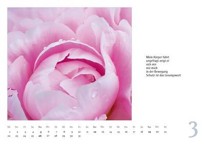 """Foto-Lyrik-Kalender 2017 """"Im Traumtänzerschritt"""" März"""