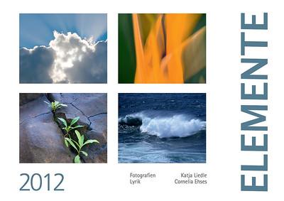 "Foto-Lyrik-Kalender 2012 ""Elemente"""