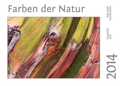 """Foto-Lyrik-Kalender 2014 """"Farben der Natur"""""""