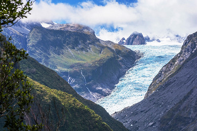 Der Fox Gletscher gilt als Tuawes Grab: Te Moeka o Tūawes – Tūawes Bett/ letzte Ruhestätte.