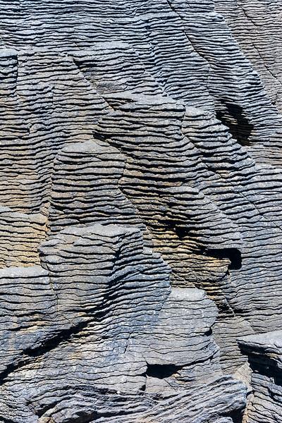 Küste bei den Pancake Rocks, Punakaiki an der Westküste Neuseelands