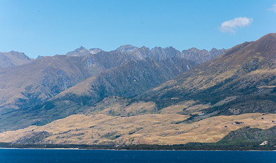 Boundary Creek Scenic Reserve am Lake Wanaka, Highway 6 Makarora - Wanaka