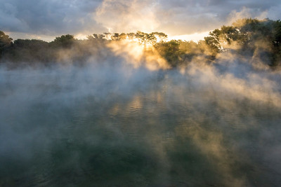 Heiße Quellen im Kuirao Park, Rotorua