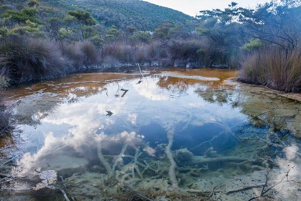 Geothermales Gebiet, Tokaanu Thermal Reserve bei Turangi