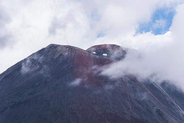 Mt. Ngauruhoe, aktiver Vulkan, Mount Doom aus Herr der Ringe, Tongariro National Park