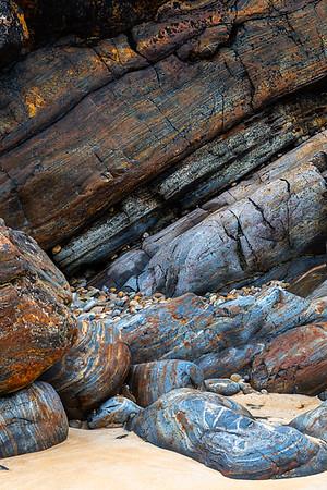 Kleine Bucht bei Rosses Strand, Rosguill, Tranarossan Bay