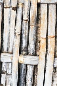 geflochtener Bambus