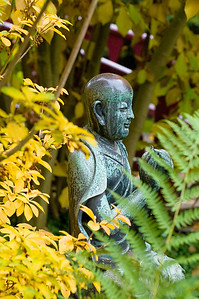 Buddhastatue, Japanischer Garten Leverkusen