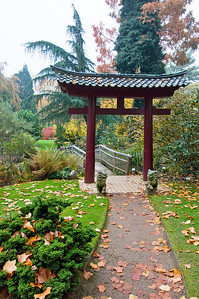 Eingangstor, Japanischer Garten Leverkusen