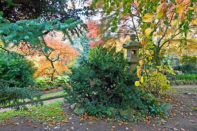Japanische Steinlaterne, Japanischer Garten Leverkusen