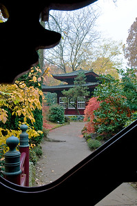 Pavillon, Japanischer Garten Leverkusen