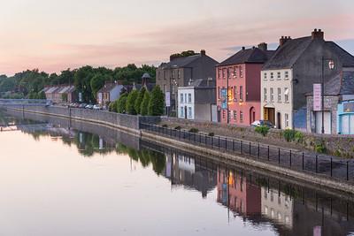 Kilkenny, Abendstimmung am River Nore