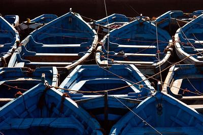 Marokko 2004, Essaouira, Hafen