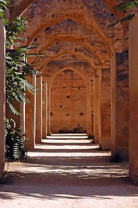 Marokko 2004, Meknès, Heri El Mansour, Pferdeställe Moulay Ismails