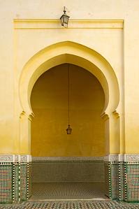 Marokko 2004, Meknès, Mausoleum Moulay Ismail