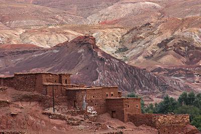 Marokko 2004, Hoher Atlas, bei Telouet