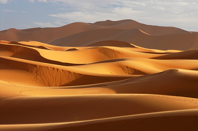 Sanddünen, Marokko, Erg Chebbi, Dunes in the Moroccan desert