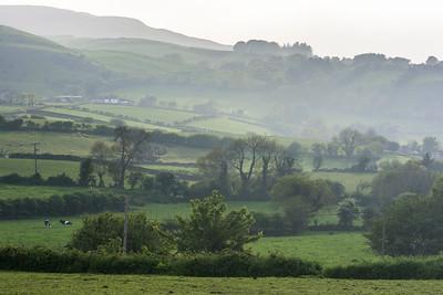 Abendstimmung im Tal von Glencloy, Co. Antrim