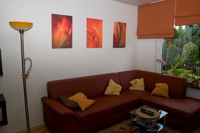 Bildserie in orange