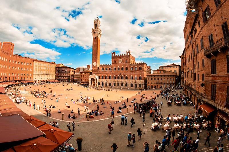 """© Emanuele Pagni Fotografer- Italien -Toskana - Siena """"Piazza del Campo"""""""