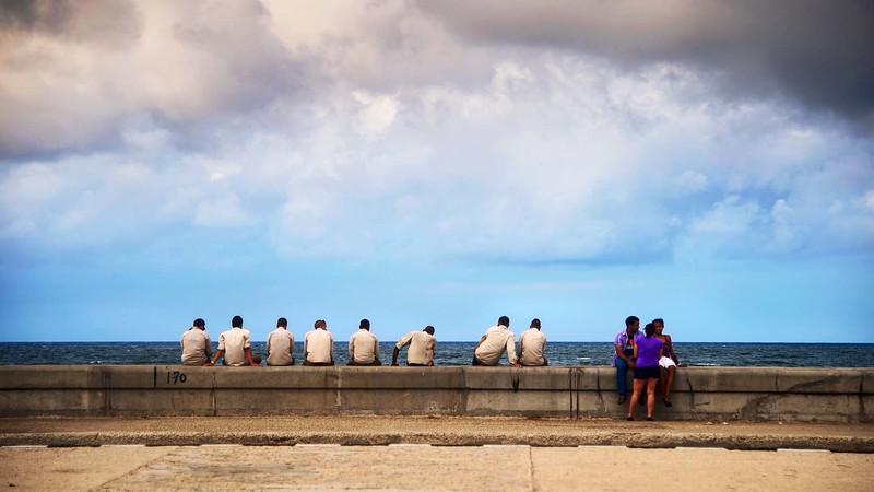 """© Emanuele Pagni Fotografer- Cuba - Havanna - """"Malecón"""""""