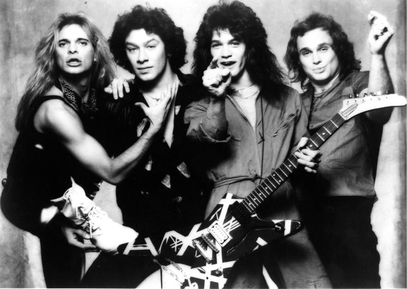 1986 Van Halen Concert Folsom Field Publicity Shot
