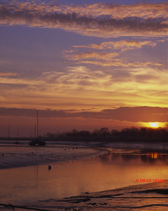DAWN AT MALDON ESTUARY 0231