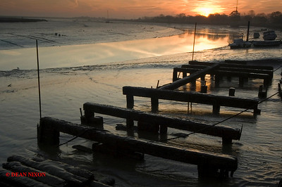 DAWN AT MALDON ESTUARY 0195