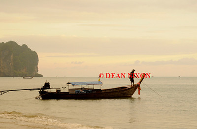 THAILAND. LONG TAIL BOAT AT AO NANG - 0389