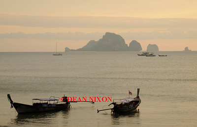 THAILAND.LONGTAIL BOATS AT AO NANG - 0385
