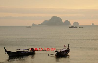 THAILAND.LONGTAIL BOATS AT AO NANG - 0385