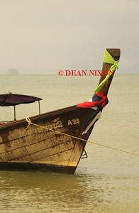 THAILAND. LONG TAIL BOAT AT AO NANG - 0388