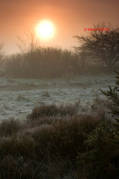 <b>WINTER SUNRISE AT PARKHALL 0197</b>