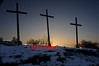EASTER CROSSES AT PARKHALL COUNTRYSIDE PARK - 0350