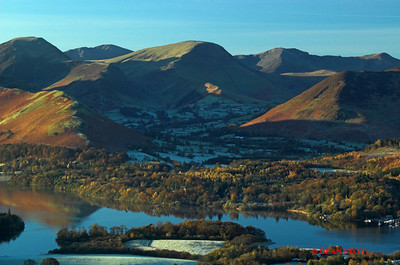 DERWENTWATER AT DAWN FROM LATRIGG 0152