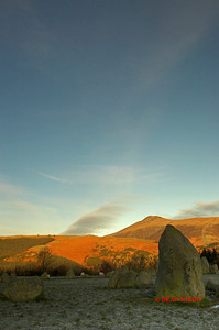 DECEMBER DAWN AT CASTLERIGG 0161