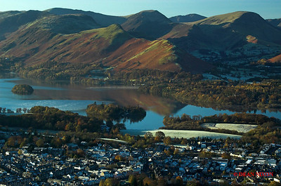 DERWENTWATER AT DAWN FROM LATRIGG 0156