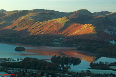 DERWENTWATER AT DAWN FROM LATRIGG 0151