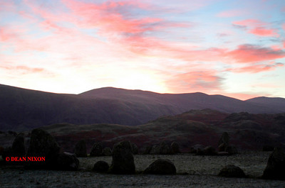 DECEMBER DAWN AT CASTLERIGG 0158