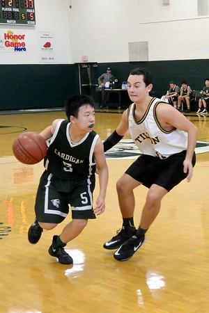 JV Basketball battles Tilton School