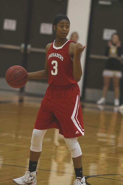 VARSITY Girls & Boys Basketball vs Andale 121515