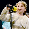 Kevin Harvison | Staff photo<br /> A Will Rogers Elementary student performs in A Bugz Christmas Thursday night at S. Arch Thompson Auditorium.