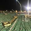 Submitted photo | <br /> Early morning hours work to pour the slab on the new MRHC Emergancy Center Project took place recently.
