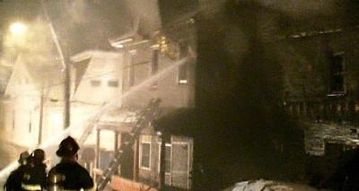 SHAMOKIN FIRE 12-20-2009